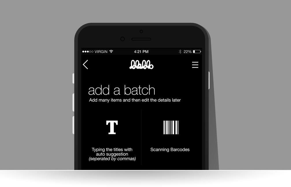 BleBlo Add Collections in Batches